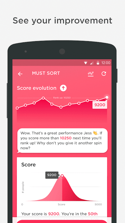Peak – Brain Games & Training Screenshot 2