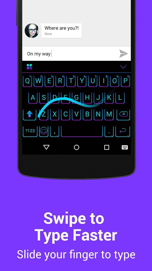 Kika Emoji Keyboard Pro + GIFs Screenshot 5