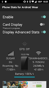 Phone Stats for Android Wear