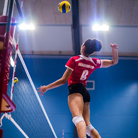 Smash by Flemming Nielsen - Sports & Fitness Other Sports ( volleyball, lyngby, smash, indoor volleyball, jump )