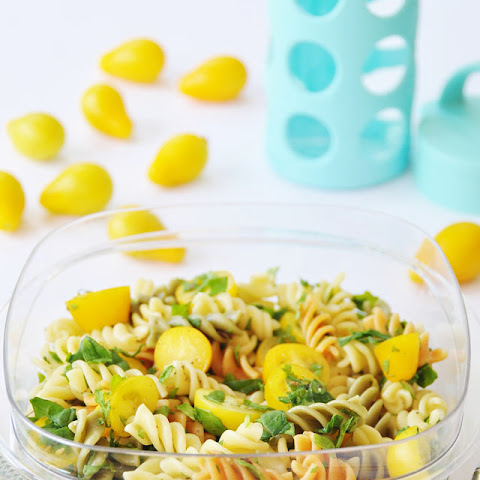 Tri Colored Garden Pasta Salad