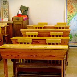Old school room by Simo Järvinen - Buildings & Architecture Other Interior ( interior, old, school, indoor )