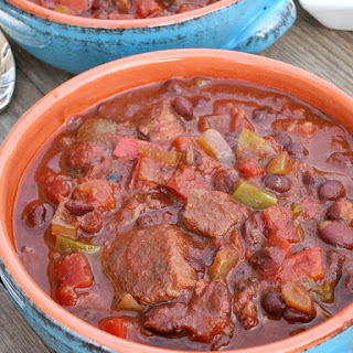 Black Bean Chili With Beef For The Slow Cooker Recipes