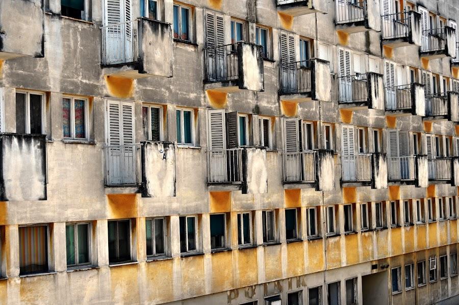 balconies by Davor  Cevizovic - Buildings & Architecture Architectural Detail