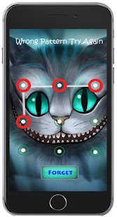 Cute Cat Pattern Screen Lock - screenshot