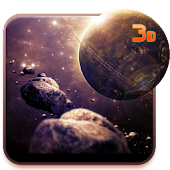 New Galaxy 3D Live wallpaper APK for Bluestacks