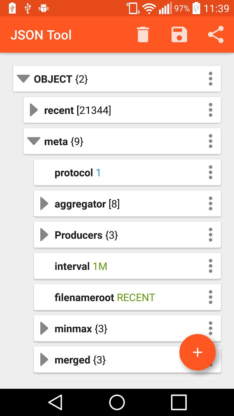 JSON Tool - Editor & Viewer Screenshot 1