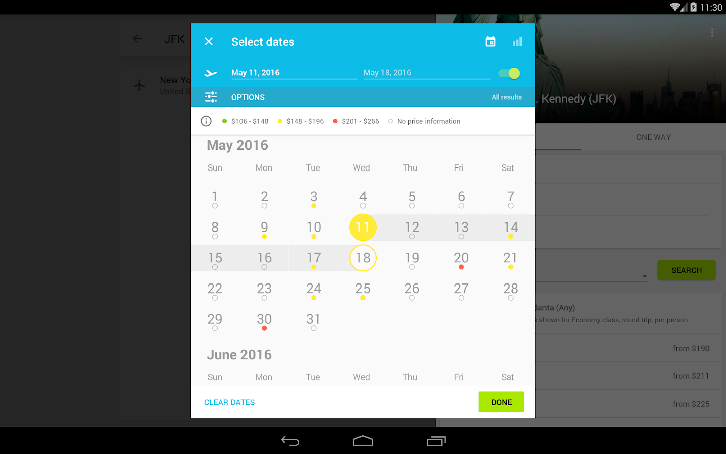Skyscanner Screenshot 10