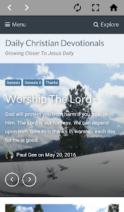Daily Christian Devotionals - screenshot