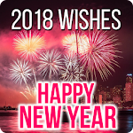 Happy New Year Wishes Cards & Messages 2018 Icon
