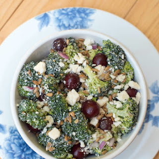 Broccoli Grape Salad with Feta