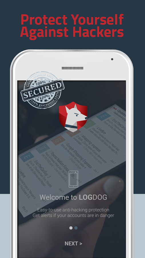 LogDog: Stop Hacker Intrusion Screenshot 1