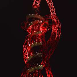 Orbit by Gábor Kallós - Buildings & Architecture Other Exteriors ( olympic, london, 2012, nightscapes, orbit, startford )