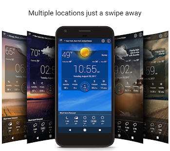 App Weather Live Free APK for Kindle