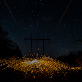 by Michael Phillips - Abstract Light Painting