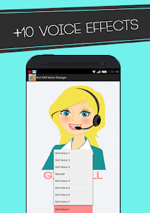 Changer Voice Call To Girls ♕ APK for Bluestacks