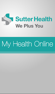Sutter Health My Health Online for pc