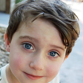 by Shannon Maltbie-Davis - Babies & Children Children Candids ( sweet, innocent, blue eyes, boy )