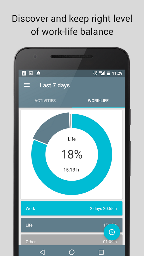 SaveMyTime - Time Tracker Screenshot 2