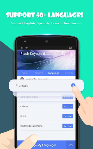 Flash Keyboard - Emoji & Theme screenshot 5