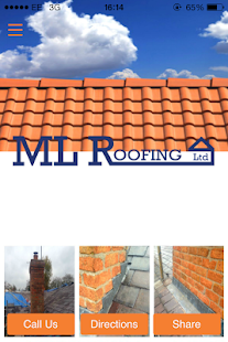 ML Roofing Ltd - screenshot
