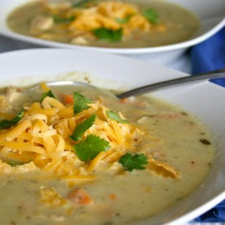 Green Chile Chicken Cheese Soup Recipes
