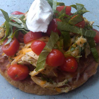 Homemade Chicken Tostadas