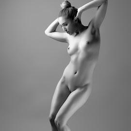 by Riaan Rampix - Nudes & Boudoir Artistic Nude ( shoes, nude, rampix photography, fine art, @rampix_mk, ballet )