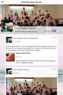 First Christian Church (Valpo) - screenshot