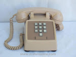 Desk Phones - Western Electric 1500 Beige