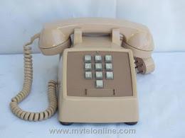 Desk Phones - Western Electric 1500 Beige 1