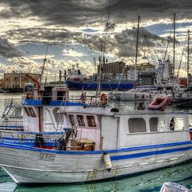 Fishing boats by Maurizio Santonocito - Transportation Boats