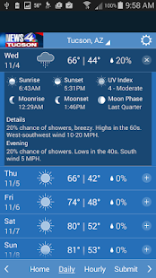 N4T Forecast - screenshot