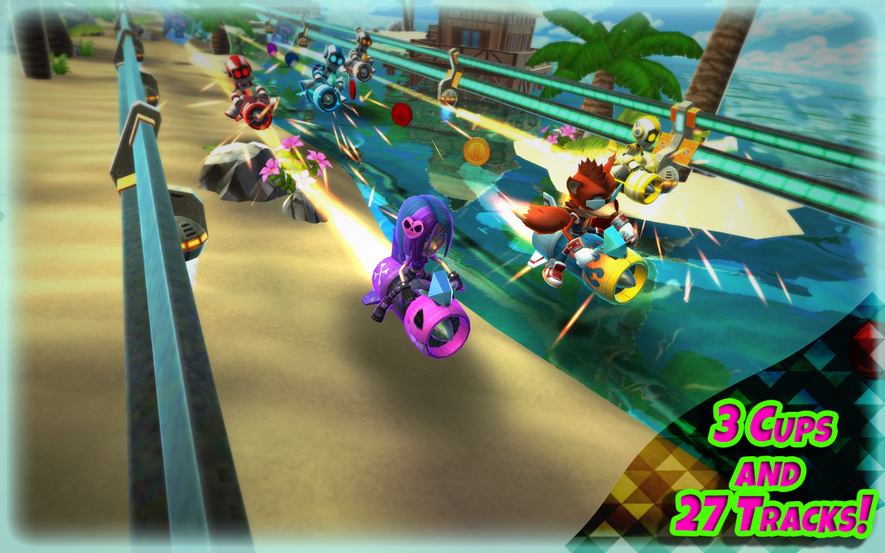 Rocket Racer Screenshot 1