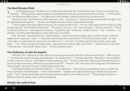 ESV Strong's Bible screenshot 6