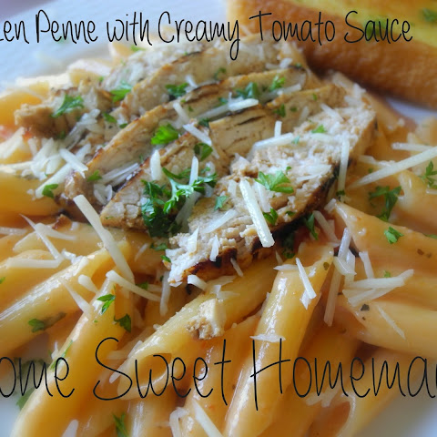 Chicken Penne with Creamy Tomato Sauce