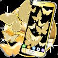 Gold butterfly live wallpaper APK for Ubuntu