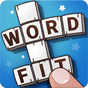 Word Fit Fill-In Crosswords Icon