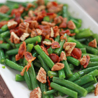 Green Beans with Honey Mustard Dressing