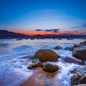 Acapulco Beach by Cristobal Garciaferro Rubio - Landscapes Beaches