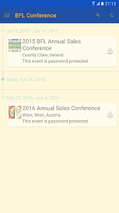 BFL Annual Sales Conference - screenshot