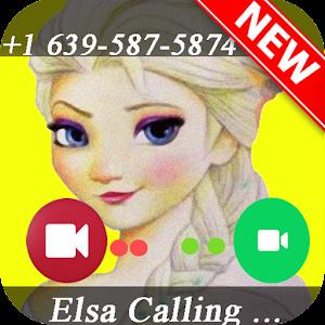 call from Elsa prank Online PC (Windows / MAC)