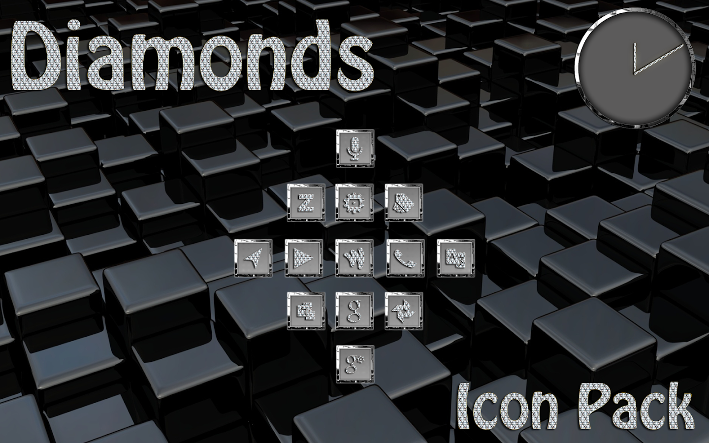 Diamonds Square Icon Pack Screenshot 4