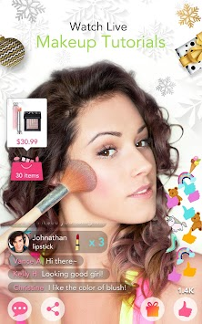 YouCam Makeup: Selfie Makeover APK screenshot thumbnail 6