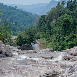 Ripple Falls by Ruth Holt - Landscapes Mountains & Hills ( dreamcatcher, ripple, south india, kerala, waterfall, munnar )