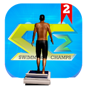 Download SwimmersChamps 2 (Swimming 3D) APK to PC