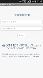 CONNECT - Sistema de venda D2D - screenshot