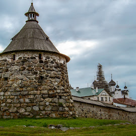 Solovetsky Monastery by Sergey Sibirtsev - Buildings & Architecture Public & Historical ( gulag, russia, prison, russian, monastery, castle, north,  )