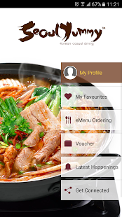 Seoul Yummy - eMenu Mobile - screenshot