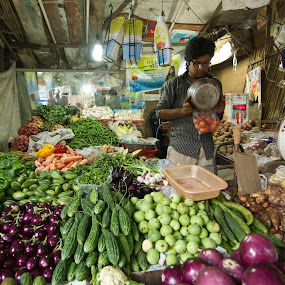 vegitable market by Tarun Jha - People Street & Candids